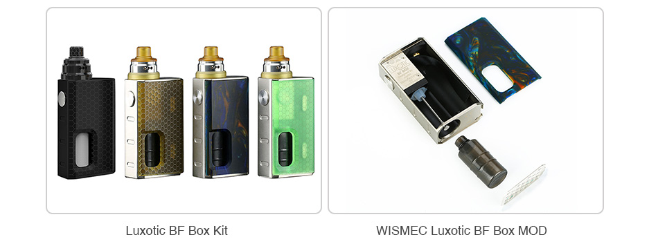 WISMEC Silicone Squeeze Bottle for Luxotic 6.8ml