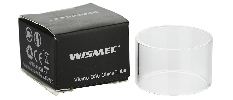 WISMEC Vicino D30 Replacement Glass Tube