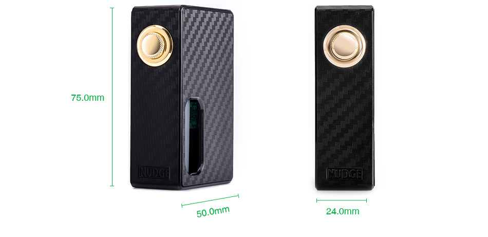 WOTOFO NUDGE Mechanical Squonk Box MOD