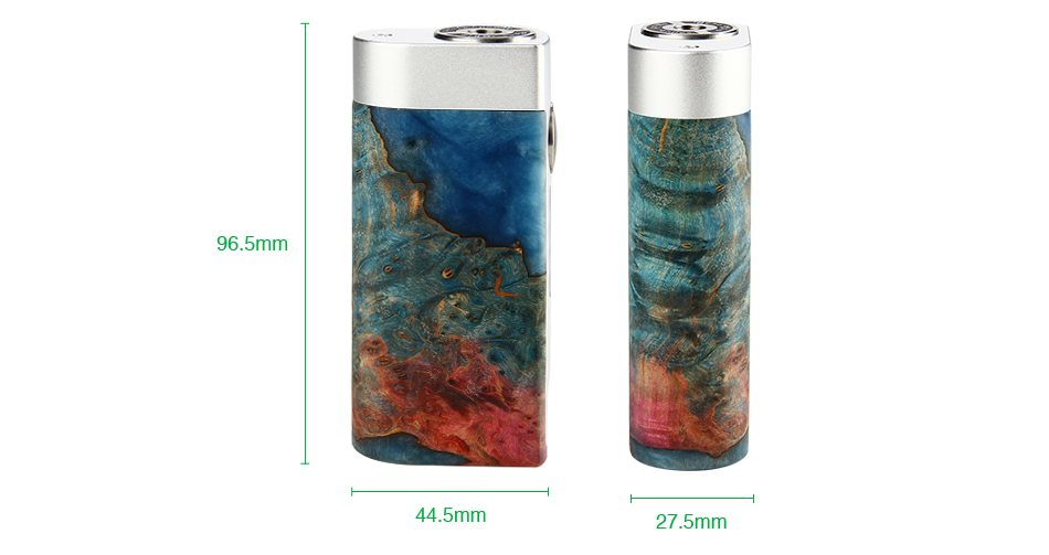 Woody Vapes S3 80W Stabilized Wood TC MOD