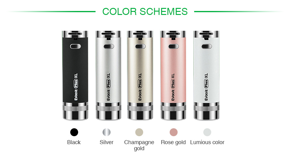 Yocan Evolve Plus XL Wax Vape Pen Battery 1400mAh