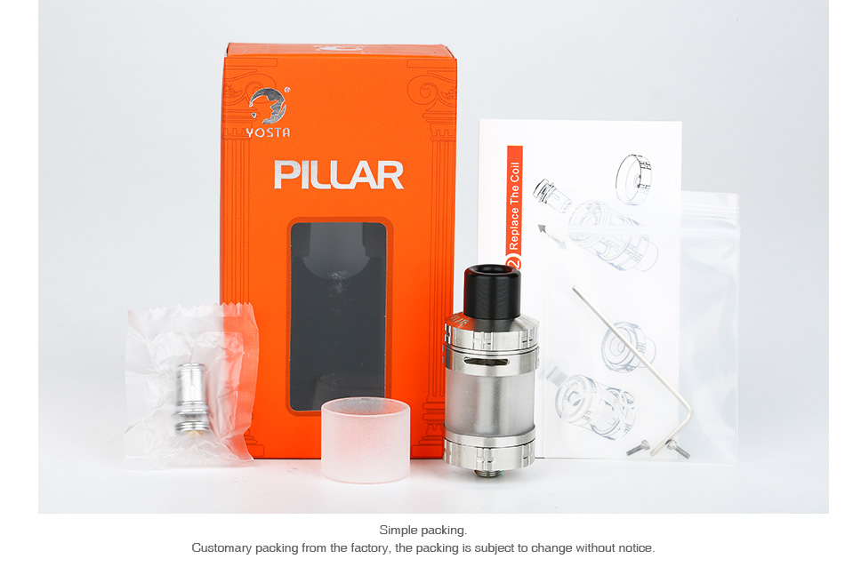 Yosta Pillar Subohm Tank 3.5ml