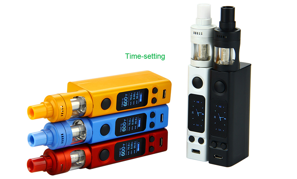 Joyetech eVic VTwo Mini dengan CUBIS Pro Full Kit W / O Battery