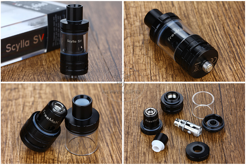 FreeMax Scylla SV Tank - 2ml, Black