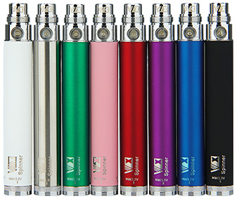 New Vision Spinner eGo Variable Voltage Battery - 650mAh