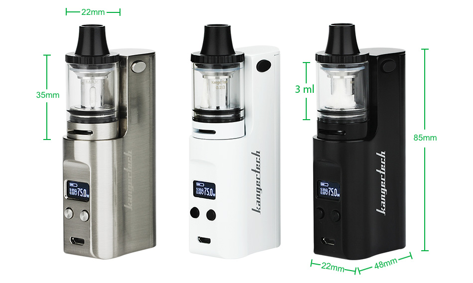 75W Kangertech JUPPI Starter Kit W/O Battery