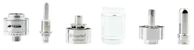 KangerTech GeniTank Pyrex Glass Single Cartomizer - 2.4ml