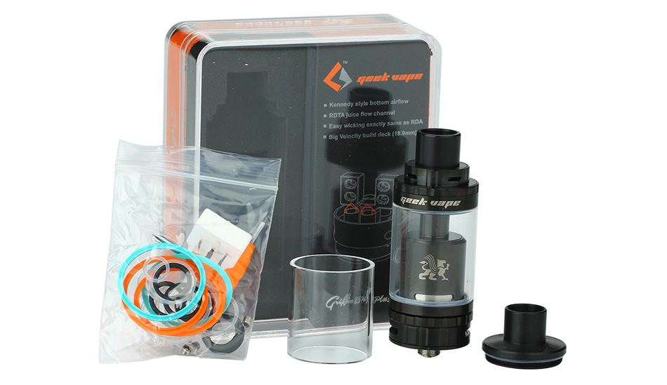 GeekVape Griffin 25 Plus RTA Tank - 5ml, Black