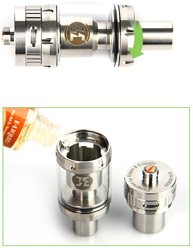 EHPRO Billow V2 Nano RTA Tank - 3ml, Silver