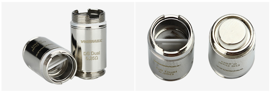 5pcs Wismec DS Dual Atomizer Head for ORMA/Motiv