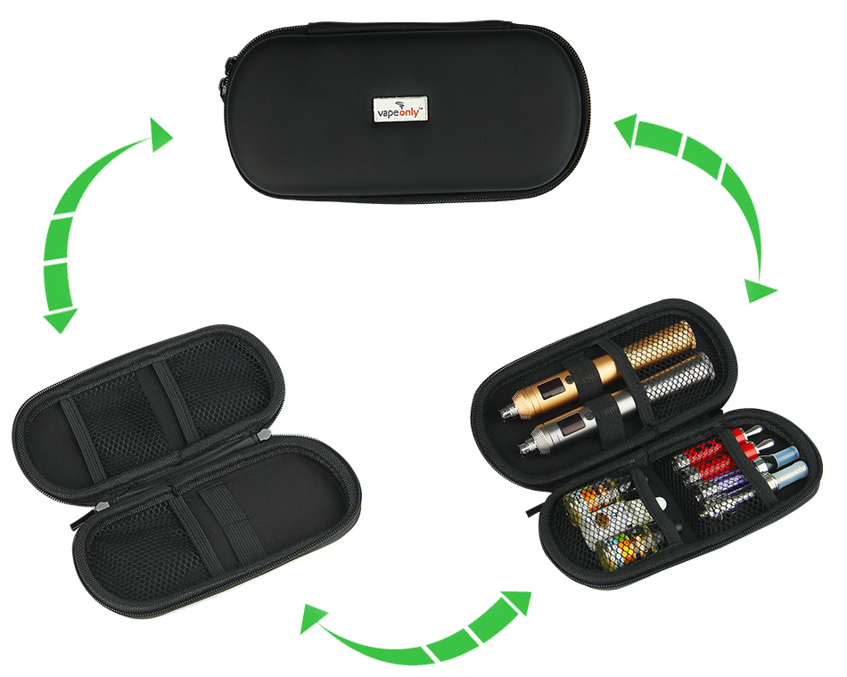 VapeOnly XL / Mega Zippered Carrying Case for e-Cigarette