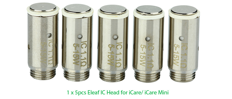 5pcs Eleaf IC Head untuk iCare / iCare Mini