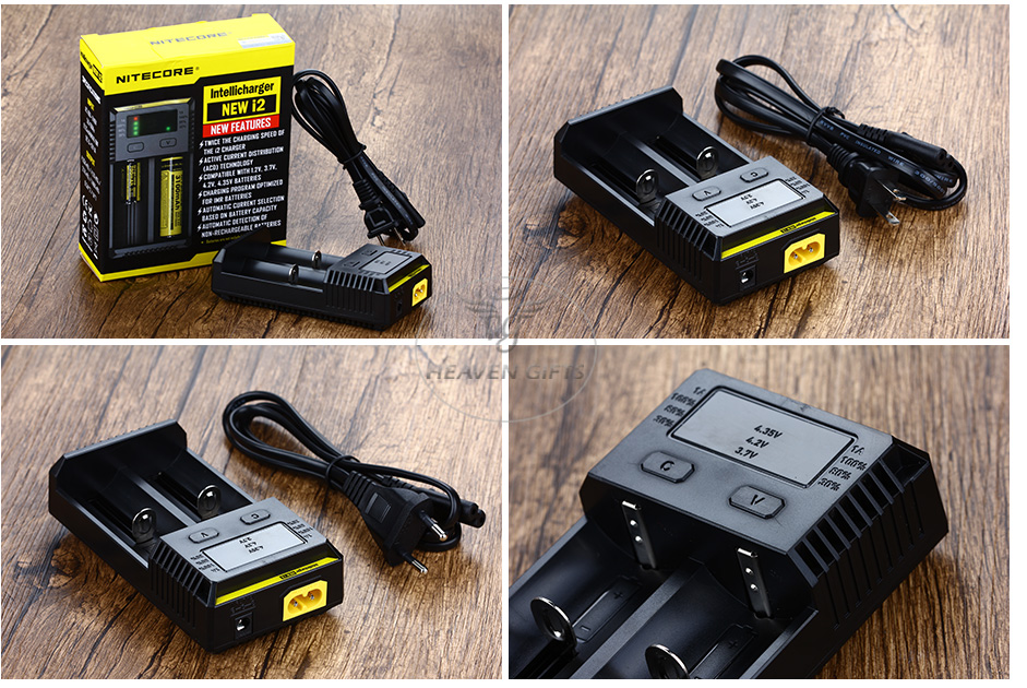 Nitecore Intellicharger New I2 Li-ion / NiMH Battery 2-slot Charger