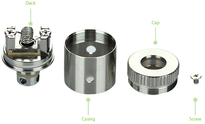 KangerTech Mini RBA Coil for Subtank Plus and Mini, No Cotton