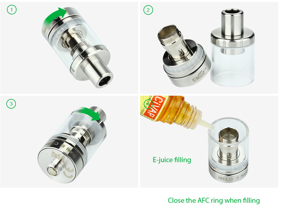 Eleaf Melo 3 Nano Atomizer - 2ml