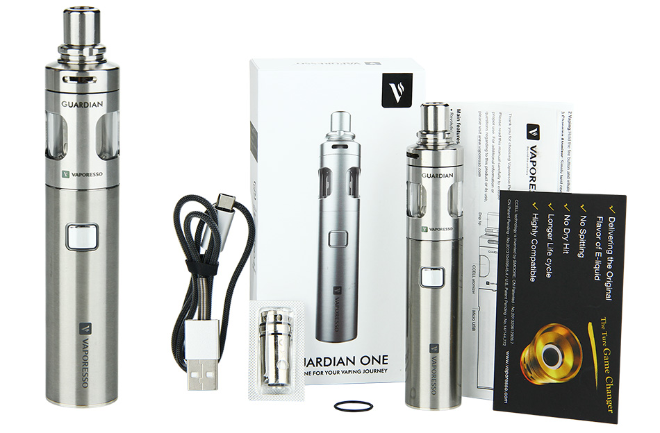 Vaporesso Guardian One Express Kit - 1400mAh, Steel