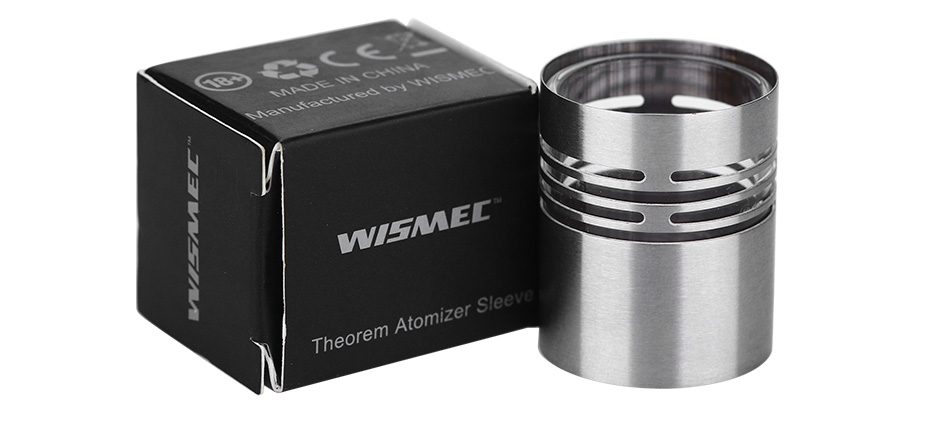 WISMEC Theorem Atomizer Sleeve - Steel