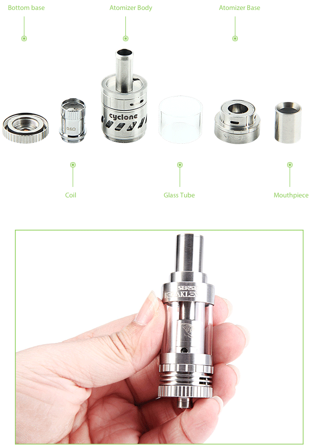 Sense Cyclone Sub-ohm Tank - 5ml
