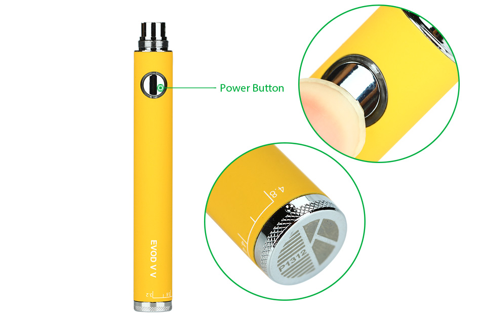 KangerTech EVOD VV / EVOD Twist 650mAh Variable Voltage battery