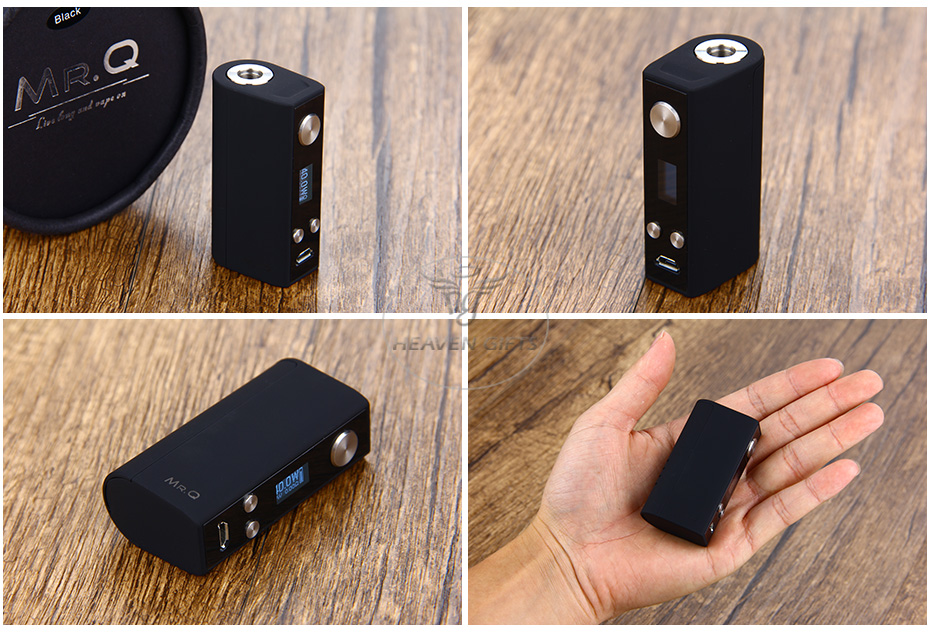 SMY MR.Q 40W TC MOD W / O Battery
