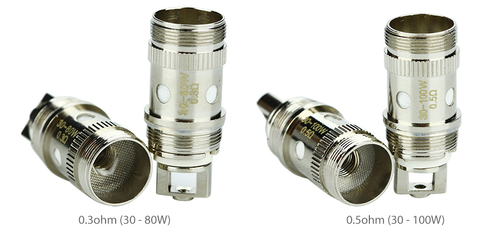 5pcs Eleaf EC Atomizer Head for iJust 2/Melo/Melo 2/Melo 3/Melo 3 Mini/Lemo 3