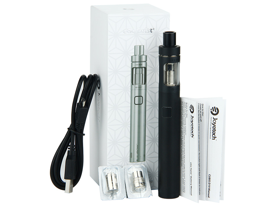 Joyetech eGo Twist+ Kit with CUBIS D19 Atomizer - 1500mAh
