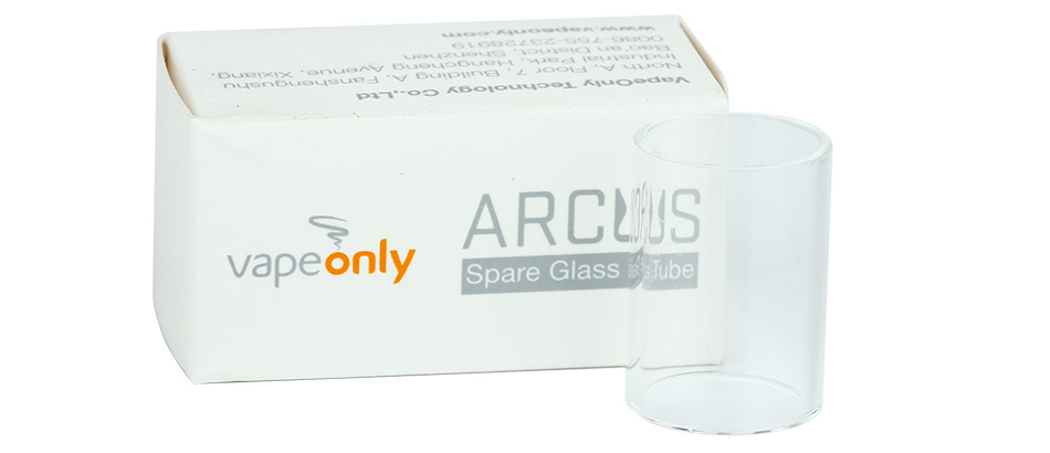 VapeOnly Arcus Replacement Glass Tube
