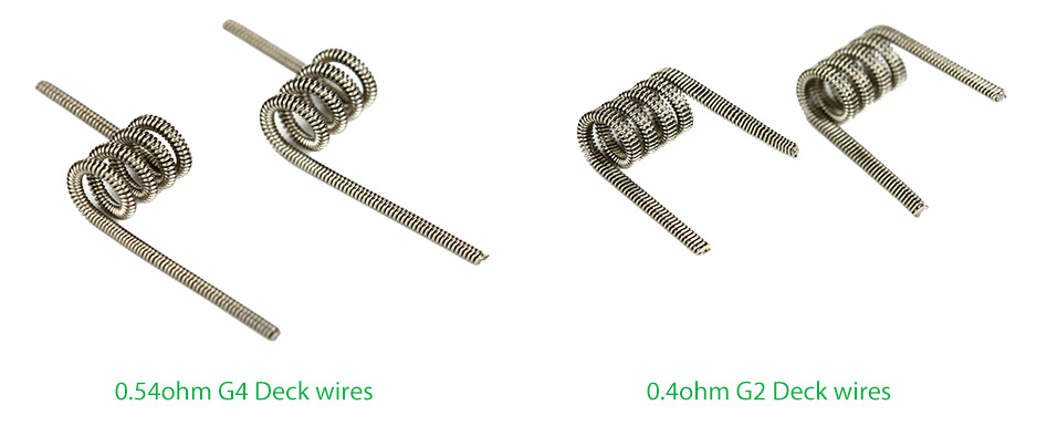 12pcs SMOK TF-RTA Pre-made Wires for G4 / G2 Deck