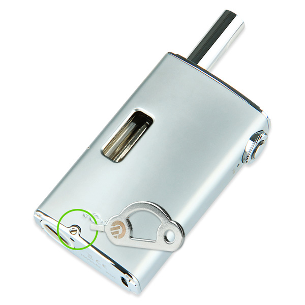 Joyetech eGrip Kit -1500mAh, Silver Air inlet