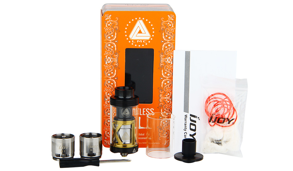 IJOY Limitless XL Tank & RTA - 4ml, Black