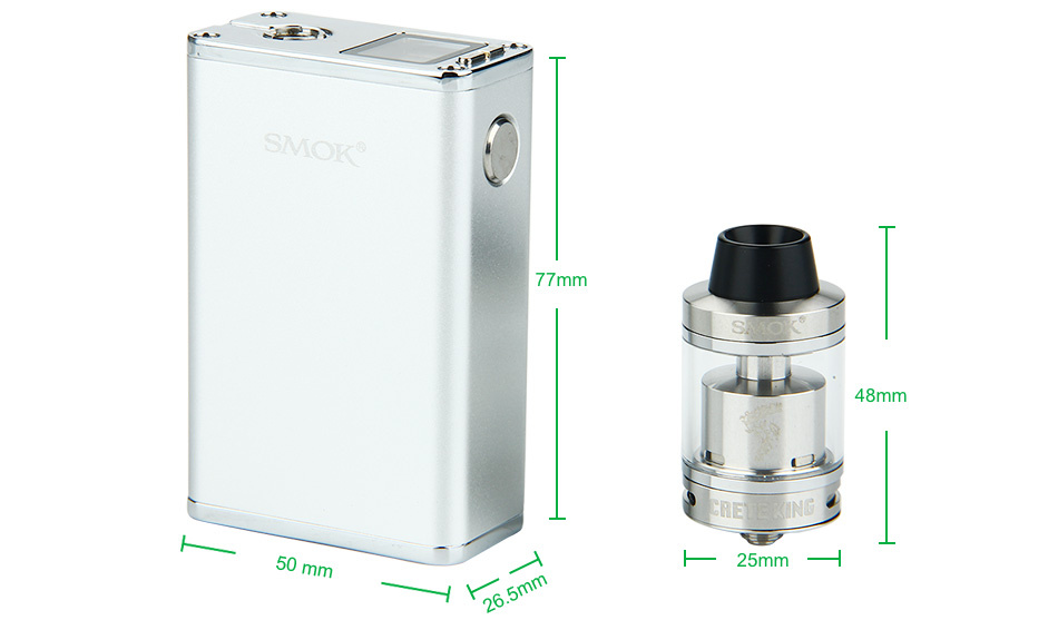 SMOK Micro One 150 TC Starter Kit - 1900mAh