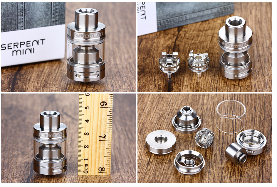 WOTOFO SERPENT MINI 25 RTA - 4.5ml, SS