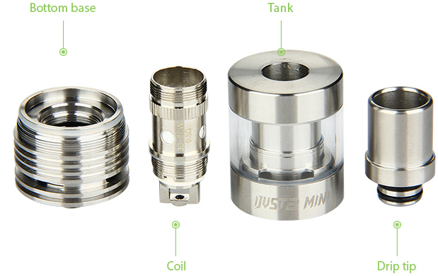 Eleaf iJust 2 Mini Subohm Atomizer - 2ml