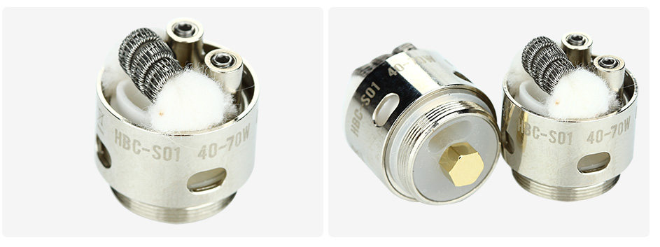 2pcs GeekVape Eagle Replacement HBC - S01