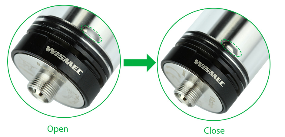 WISMEC Vicino Atomizer - 3.5ml