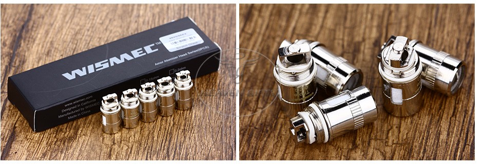 5pcs Wismec Amor Mini Atomizer Head