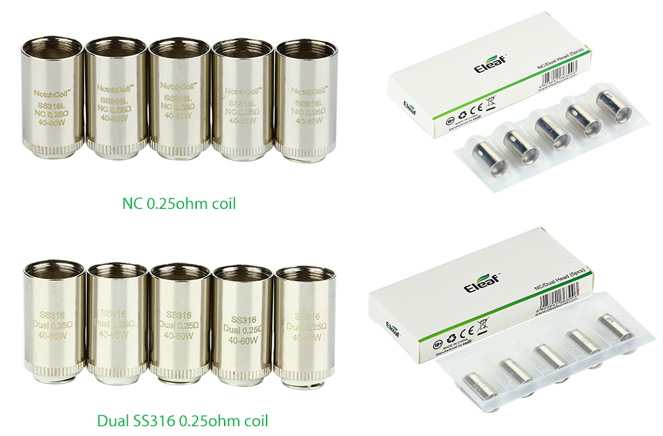 5pcs Eleaf LYCHE Atomizer Head