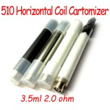 5pc 510 3.5ml Horizontal coil empty cartomizers for e-cigarette