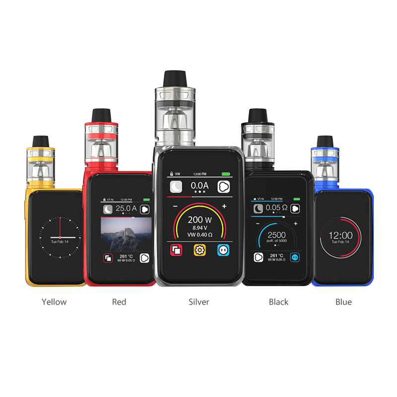 Joyetech Cuboid Pro 200W with ProCore Aries Touchscreen TC Kit(Black, 2ml)