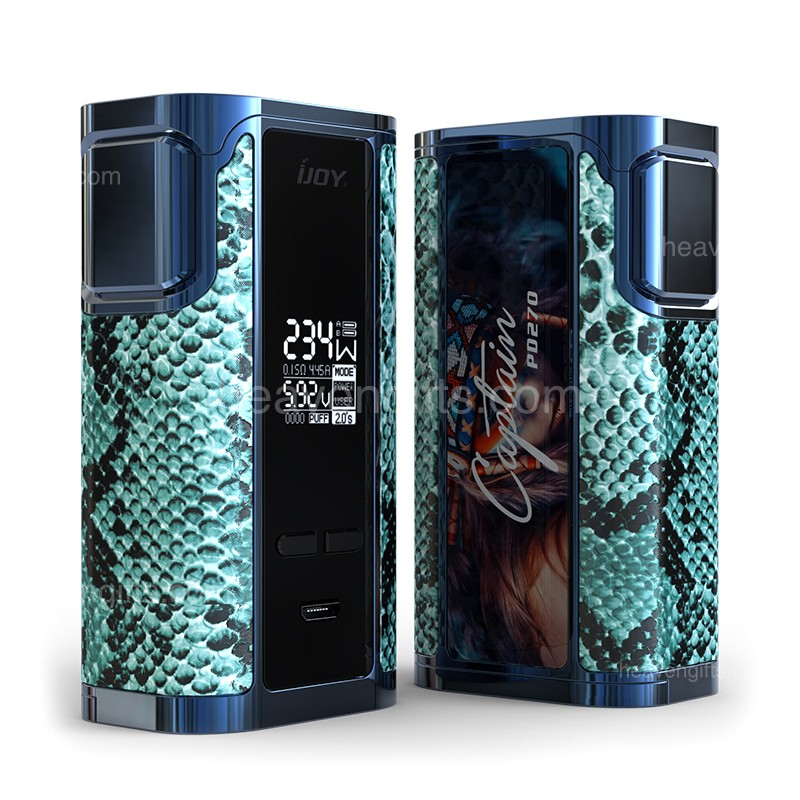 234w Ijoy Captain Pd270 Tc Box Mod 6000mah
