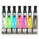 5pc Long Wick eGo CEX 1.6ml CC (Coil Changeable) clear cartomizer / clearomizer
