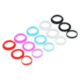 15шт. Подгузник Kangertech Plus Colorful Silicon Ring