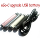 Joyetech eGo-C 2 Upgrade 650mAh USB battery/USB passthrough