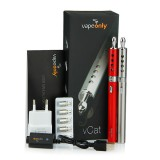 VapeOnly vCat Starter Kit dengan Cats Eye Window BVC Cartomizer - 1100mAh