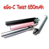 Joyetech eGo-C Twist Variable Voltage 650mAh battery