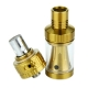 Vision Vapros KinTa Tank Atomizer - 3ml, Black & Gold