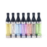 5pcs T2 (eGo Thread) Long Wick CC Clearomizer - 2.4ml