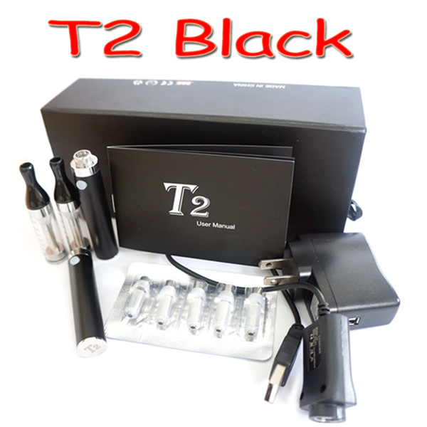T2 CC(Coil Changeable) clear cartomizer / clearomizer starter kit