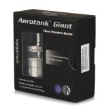 KangerTech Aerotank Giant Airflow Control Pyrex Glass Clearomizer with Upgraded Dual Coil - 4.5ml
