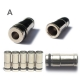 5x metal drip tips for 510/901 e-cigarette